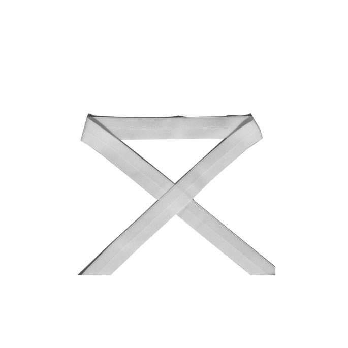 Biais élastique 2.5cm Blanc (1m)