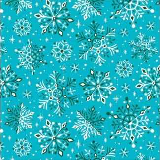 Organic cotton print Tinsel Wonderland Cloud9