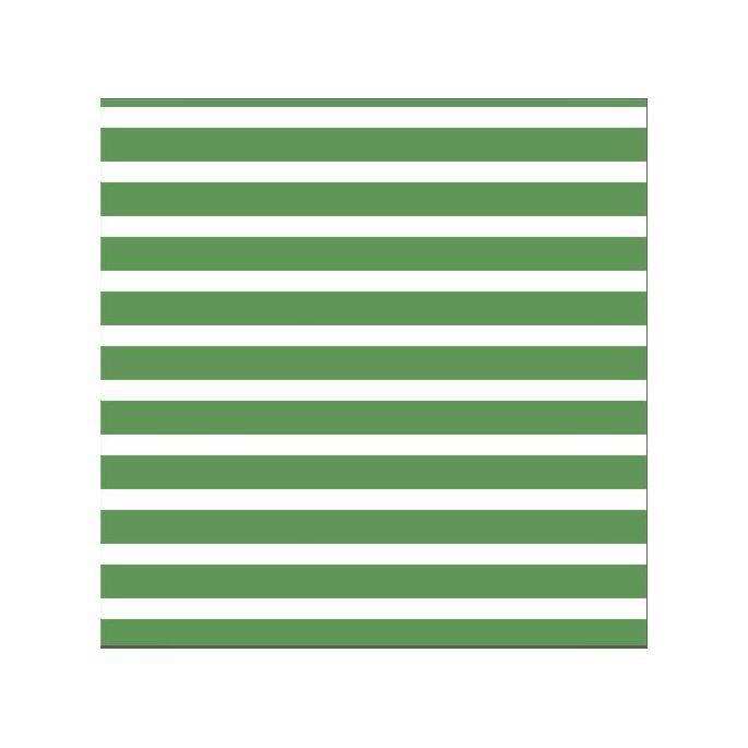 Coton Bio Interlock Colourful Stripes Green Cloud9