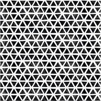 Coton Bio Interlock Triangles Black Cloud9