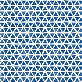 Organic cotton Knit Triangles Blue Cloud9