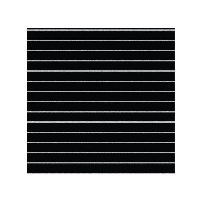 Coton Bio Interlock Stripes Black Cloud9