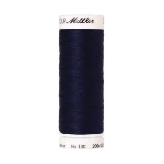 Mettler Polyester Sewing Thread (200m) Color #0016 Dark Indigo