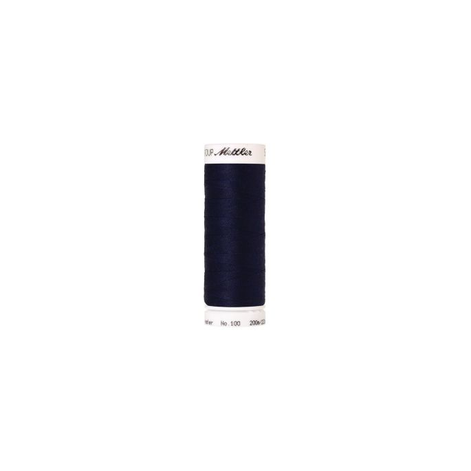 Fil polyester Mettler 200m Couleur n°0016 Indigo Foncé