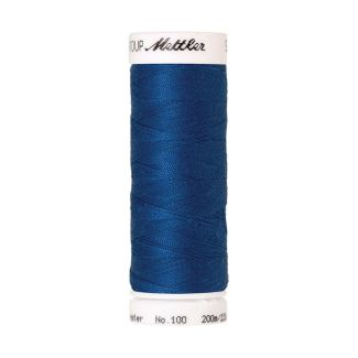 Fil polyester Mettler 200m Couleur n°0024 Bleu Colonial