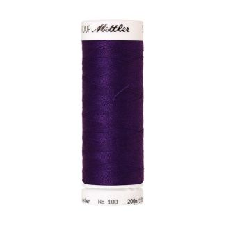 Mettler Polyester Sewing Thread (200m) Color #0046 Deep Purple