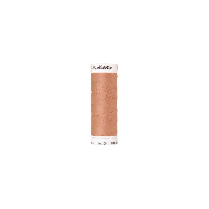 Fil polyester Mettler 200m Couleur n°0078 Ficelle