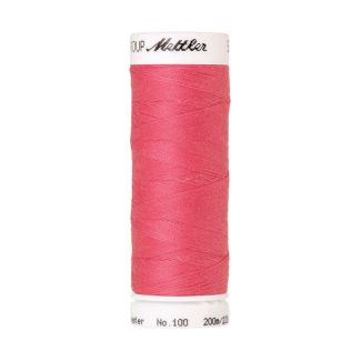 Fil polyester Mettler 200m Couleur n°0103 Rouge Tropicana