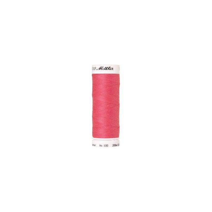 Fil polyester Mettler 200m Couleur n°0103 Rouge Tropicana