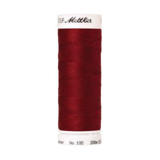 Fil polyester Mettler 200m Couleur n°0105 Rouge Bourgogne