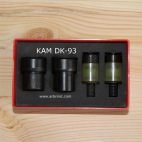 Dies for DK93 - Size 16 plastic snaps