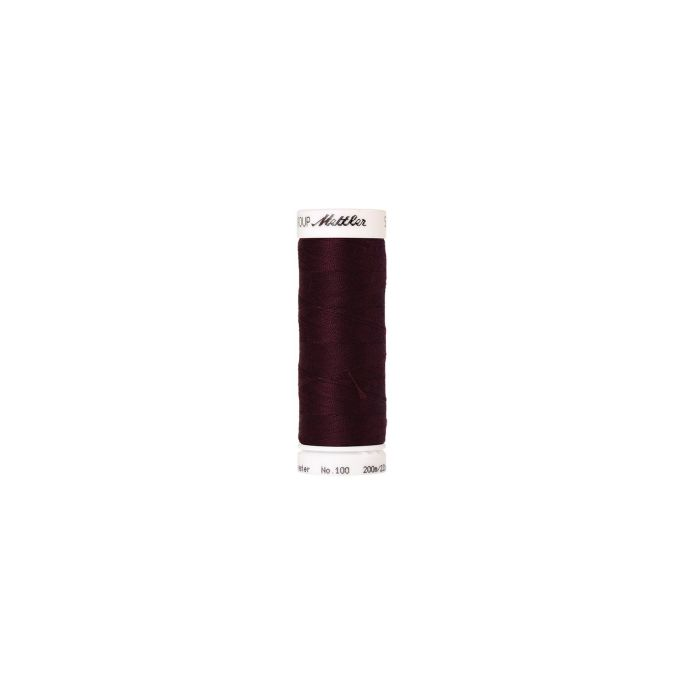 Mettler Polyester Sewing Thread (200m) Color 0111 Beet Red