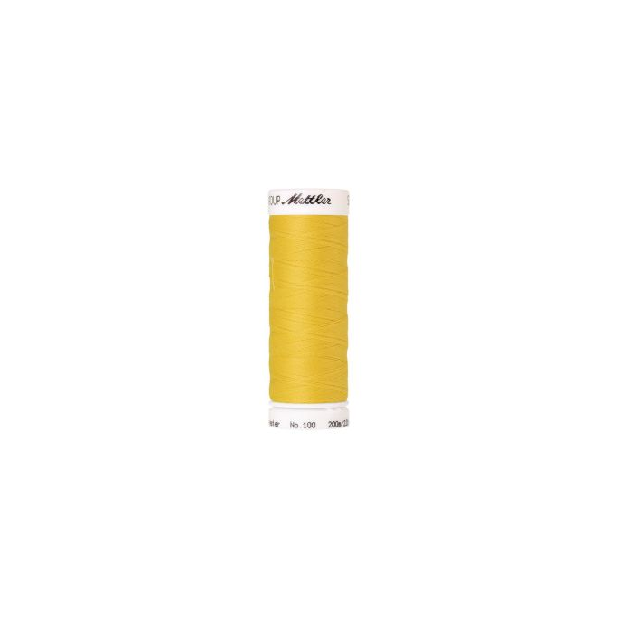 Mettler Polyester Sewing Thread (200m) Color 0113 Buttercup