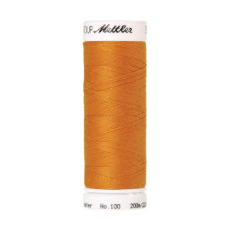 Fil polyester Mettler 200m Couleur n°0121 Or Liberté
