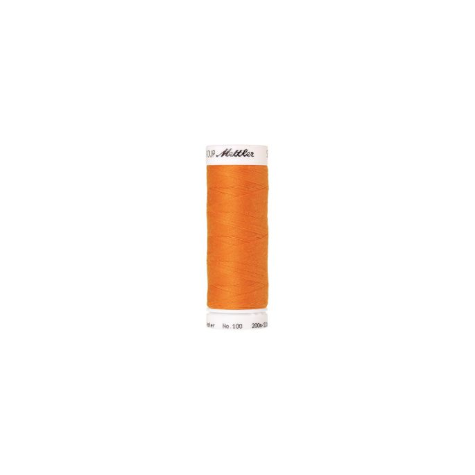 Mettler Polyester Sewing Thread (200m) Color 0122 Pumpkin