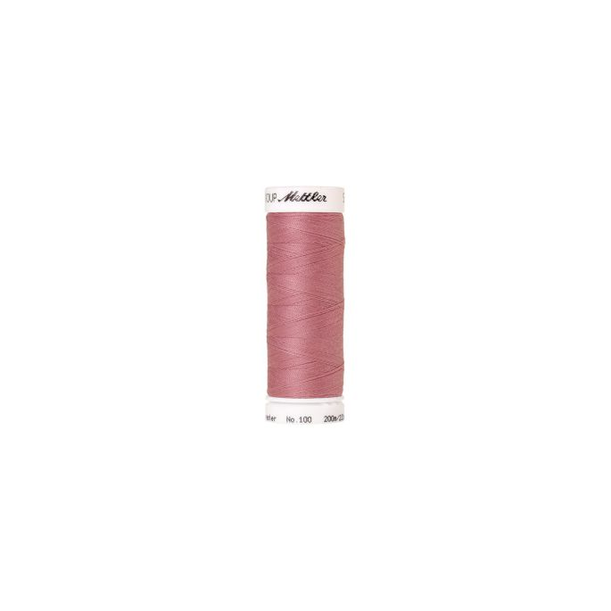 Mettler Polyester Sewing Thread (200m) Color 0156 Pink Rose