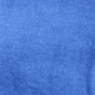 Organic Cotton Fleece Width 180cm blue jeans (per meter)