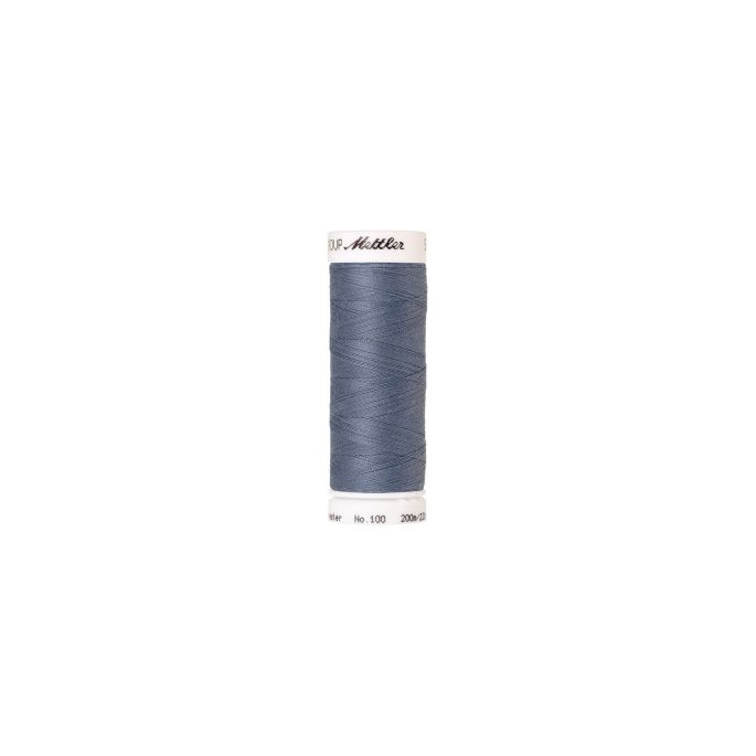 Mettler Polyester Sewing Thread (200m) Color 0309 Blue Whale