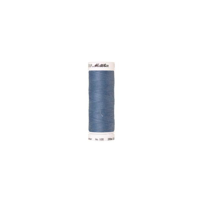 Fil polyester Mettler 200m Couleur n°0350 Ciel d'Ete