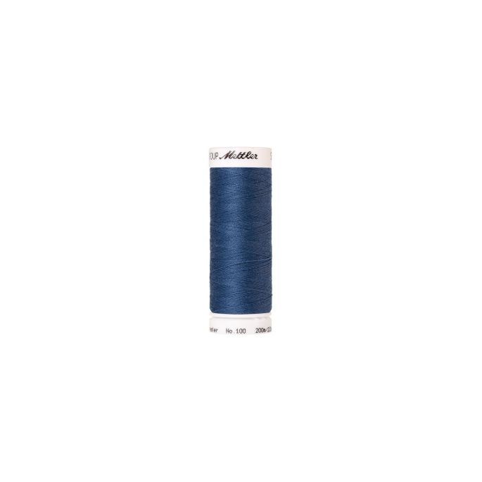 Mettler Polyester Sewing Thread (200m) Color 0351 Smoky Blue