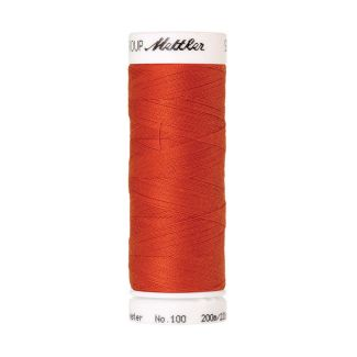Mettler Polyester Sewing Thread (200m) Color #0450 Paprika