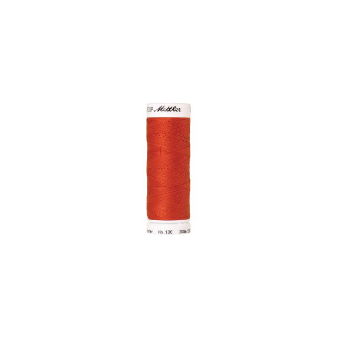 Mettler Polyester Sewing Thread (200m) Color 0450 Paprika