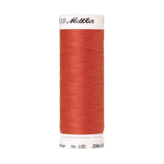 Mettler Polyester Sewing Thread (200m) Color #0507 Spanish Tile