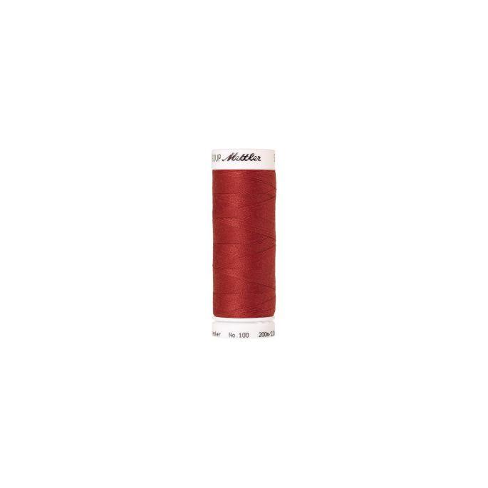 Fil polyester Mettler 200m Couleur n°0508 Rouille Foncé