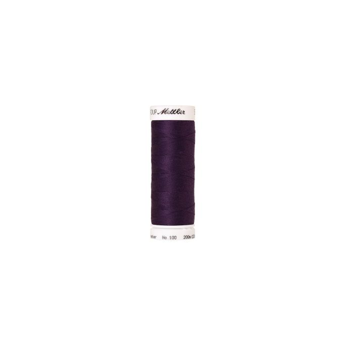 Mettler Polyester Sewing Thread (200m) Color 0578 Purple Twist