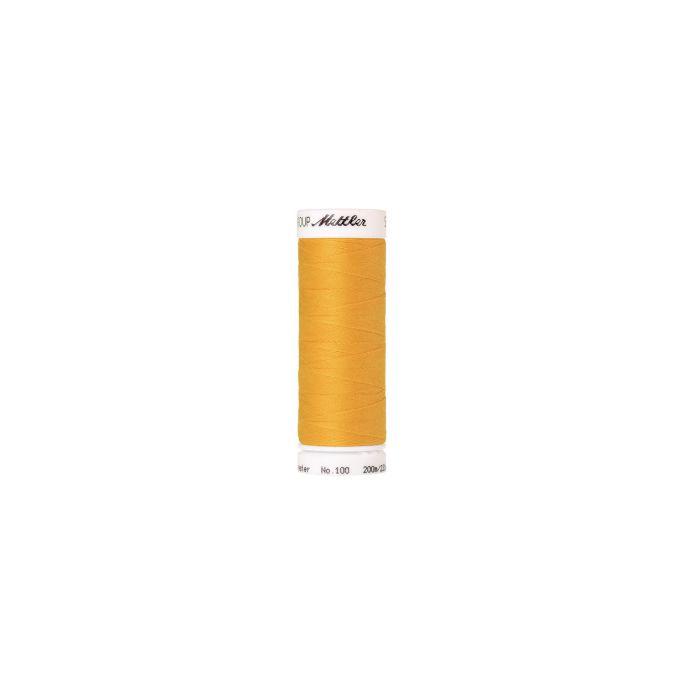 Fil polyester Mettler 200m Couleur n°0607 Papaye