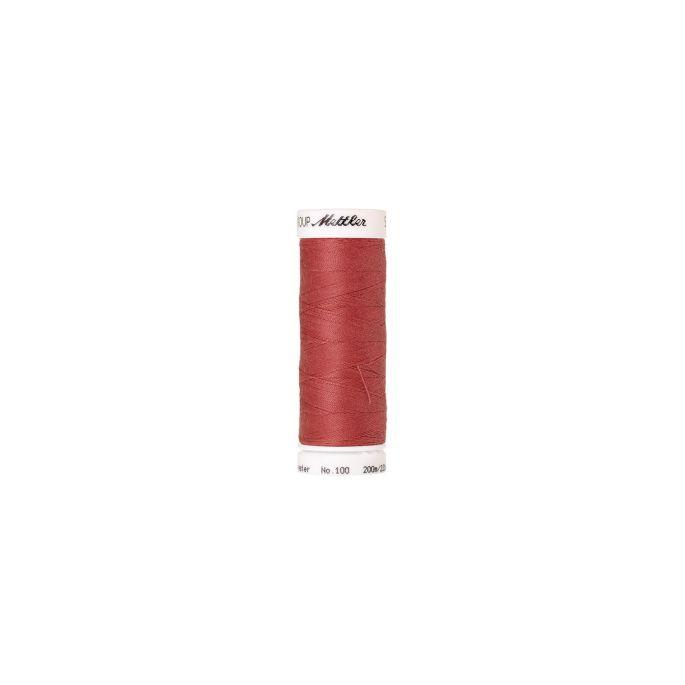 Fil polyester Mettler 200m Couleur n°0623 Orange Sanguine