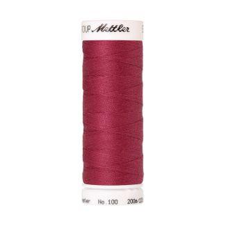 Fil polyester Mettler 200m Couleur n°0641 Framboise