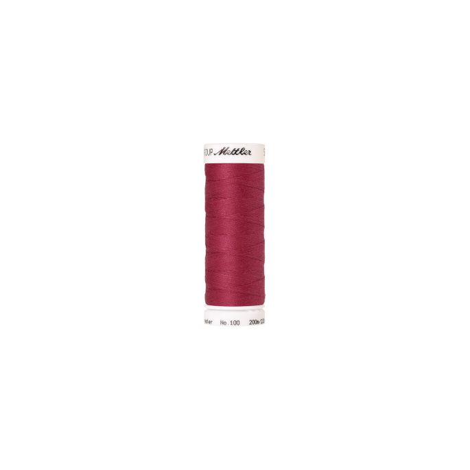 Mettler Polyester Sewing Thread (200m) Color 0641 Raspberry