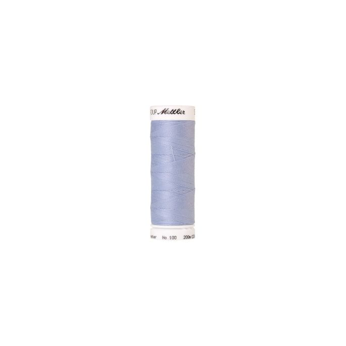 Mettler Polyester Sewing Thread (200m) Color 0814 Baby Blue