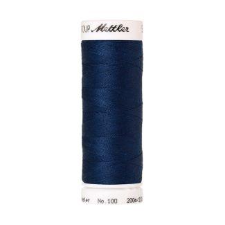 Fil polyester Mettler 200m Couleur n°0816 Bleu Royal