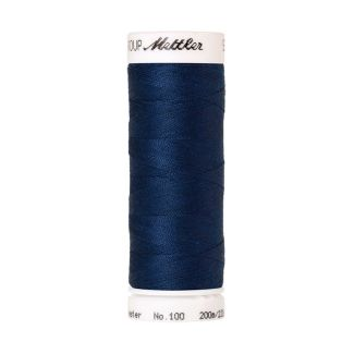Mettler Polyester Sewing Thread (200m) Color #0816 Royal Navy