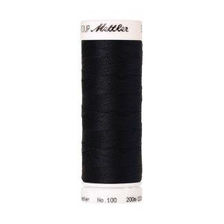 Mettler Polyester Sewing Thread (200m) Color #0821 Darkest Blue