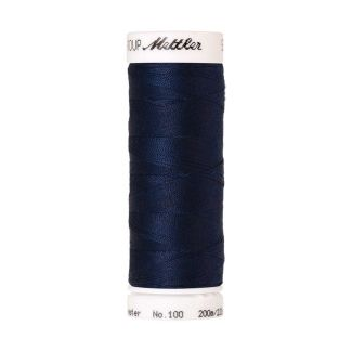 Mettler Polyester Sewing Thread (200m) Color #0823 Night Blue
