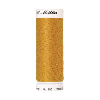 Fil polyester Mettler 200m Couleur n°0892 Or Etoilé