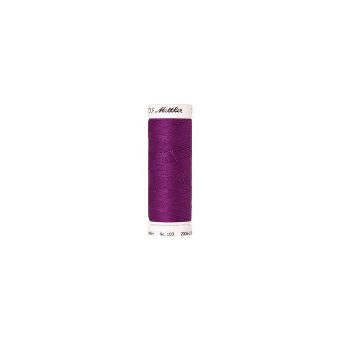 Fil polyester Mettler 200m Couleur n°1059 Myrtille
