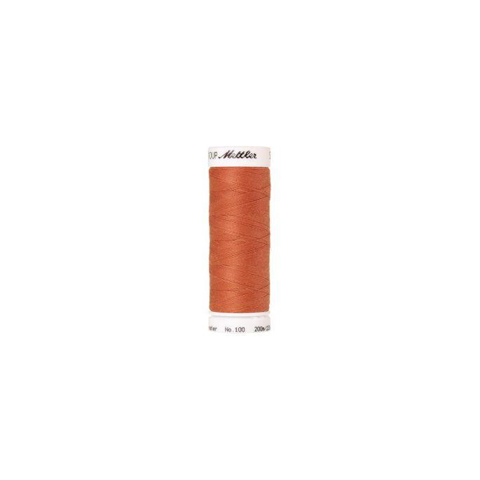 Fil polyester Mettler 200m Couleur n°1073 Melon