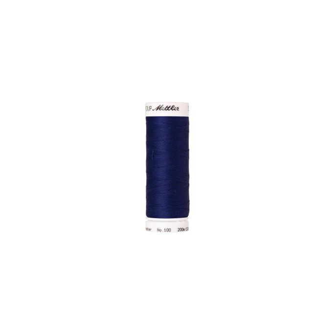 Mettler Polyester Sewing Thread (200m) Color 1078 Fire Blue