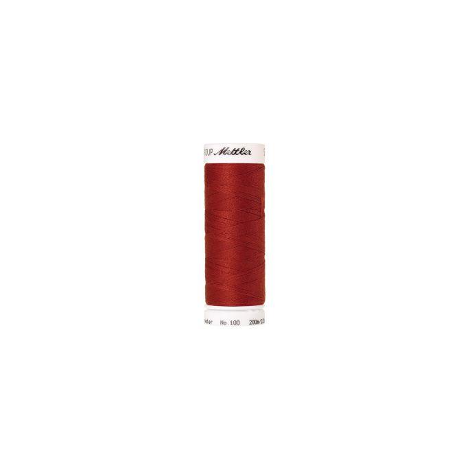 Fil polyester Mettler 200m Couleur n°1167 Orange Brûlée