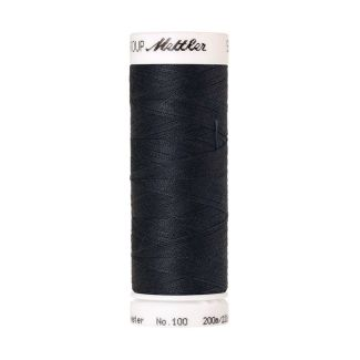Mettler Polyester Sewing Thread (200m) Color #1242 Drab Dark Blu