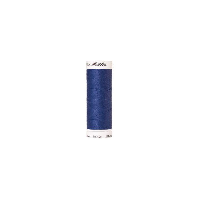 Fil polyester Mettler 200m Couleur n°1301 Bleu Nordique