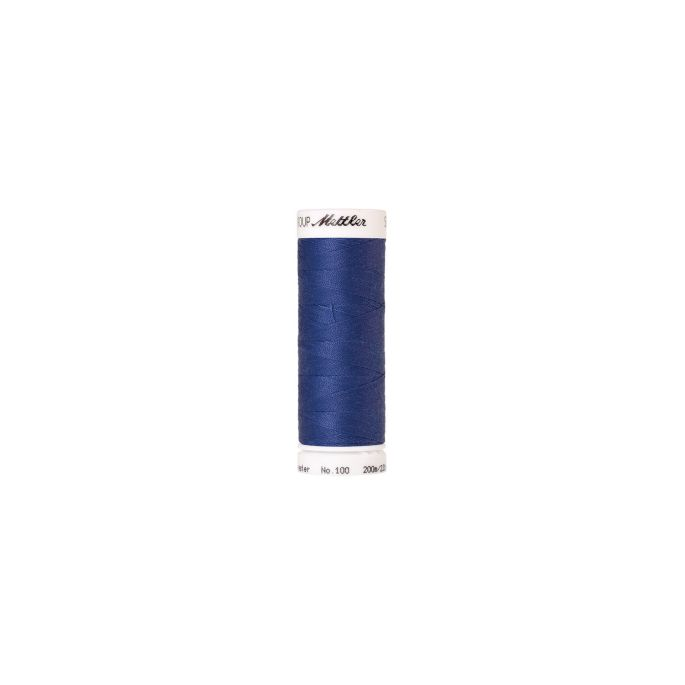 Mettler Polyester Sewing Thread (200m) Color 1301 Nordic Blue