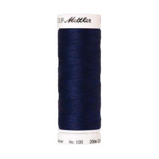 Fil polyester Mettler 200m Couleur n°1305 Bleu Porcelaine