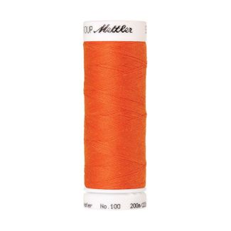 Mettler Polyester Sewing Thread (200m) Color #1335 Tangerine