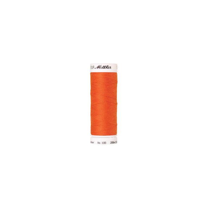 Fil polyester Mettler 200m Couleur n°1335 Mandarine