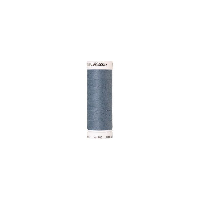 Mettler Polyester Sewing Thread (200m) Color 1342 Blue Speedwel
